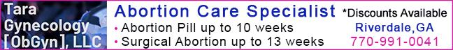 Tara Gynecology, LLC abortion clinic in Riverdale, GA
