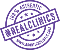 #RealClinics - AbortionClinics.com reputable abortion clinics badge | Crisis Pregnancy Centers are not abortion clinics. Stay away from Fake Clinics
