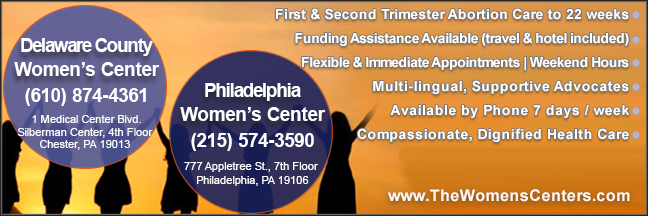 The Women's Centers abortion clinics in Pennsylvania offering Abortion pill, abortions.