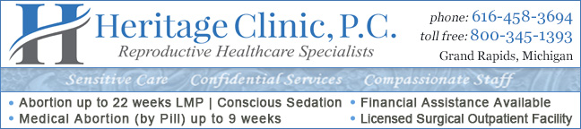 Heritage Clinic for Women - abortion clinic in Grand Rapids, Michigan