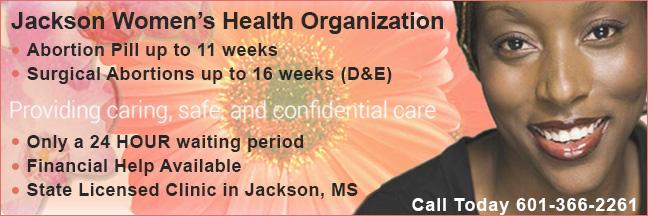 Jackson Women's Health Organization - abortion clinic in Jackson, Mississippi near Alabama