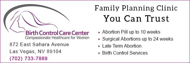 Birth Control Care Center abortion clinic in Las Vegas, NV